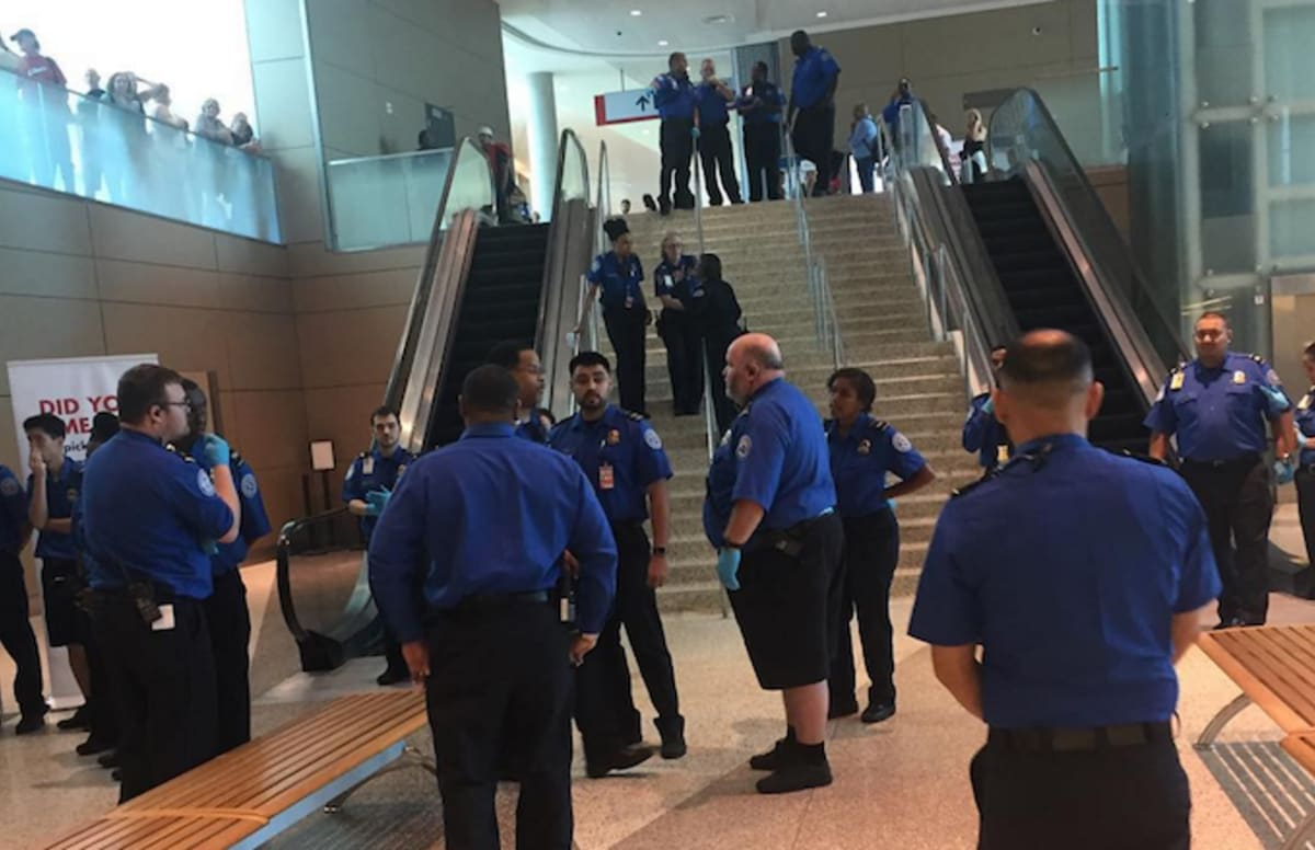 Horrific Video Shows Police Shooting at Dallas Airport