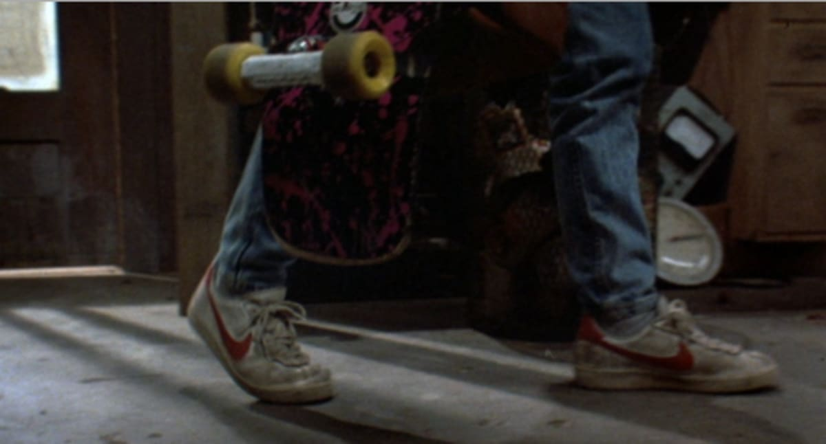 How The Nike Bruin Ended Up In Back To The Future Complex