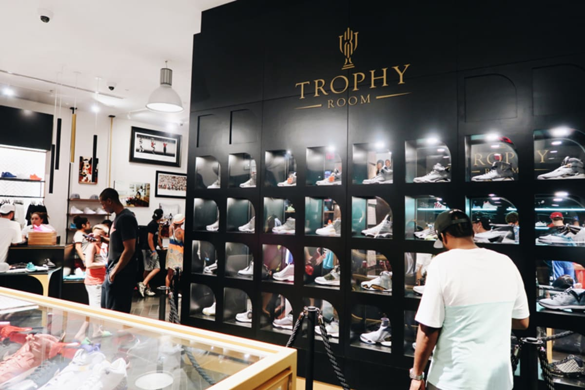 A Look Inside Michael Jordan's Son's Sneaker Store