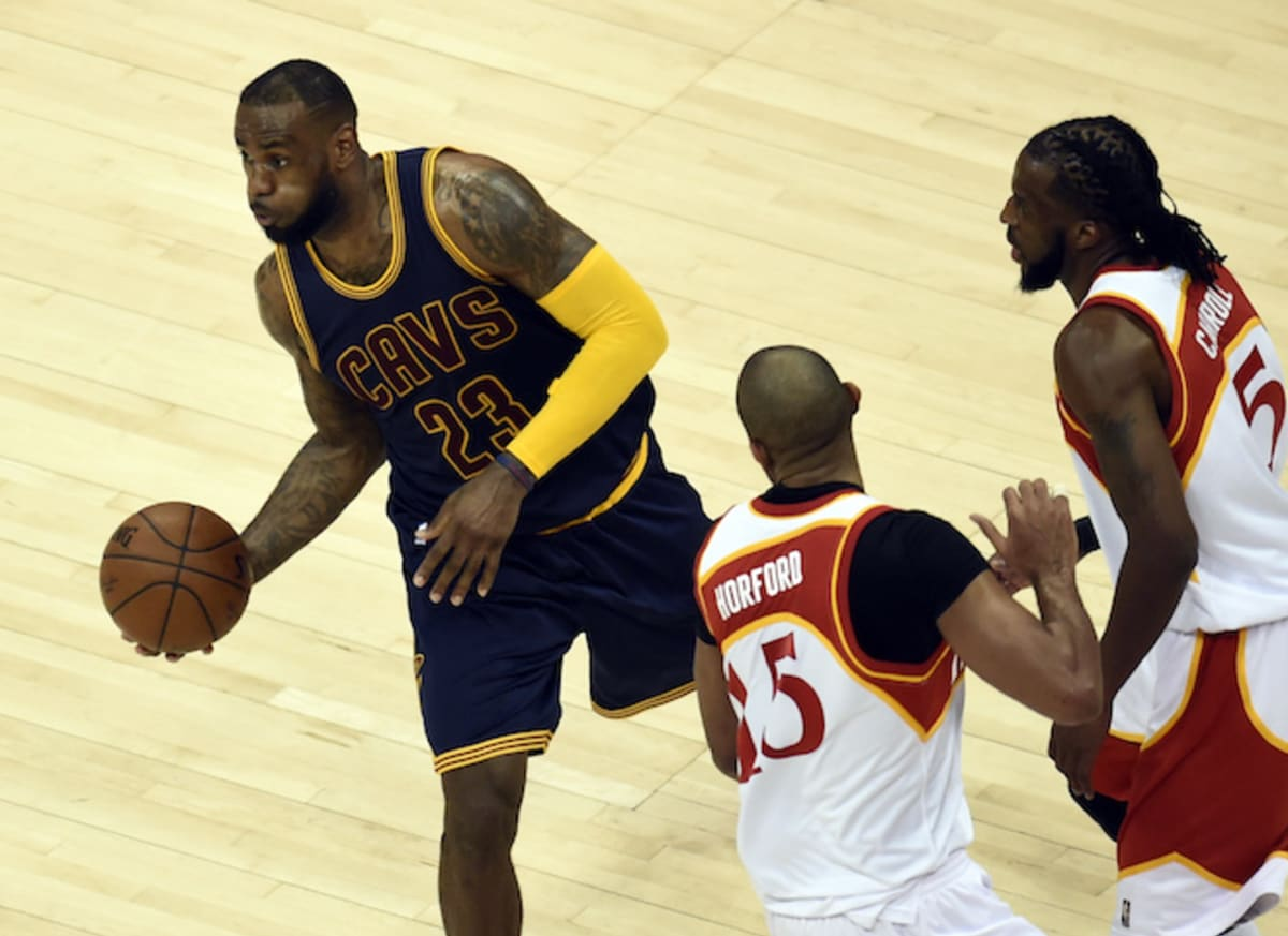 Nigel D Lebron James Dismantles The Hawks Complex Got It From Rx7 Websiteguess They39ve Been Doing What I39ve
