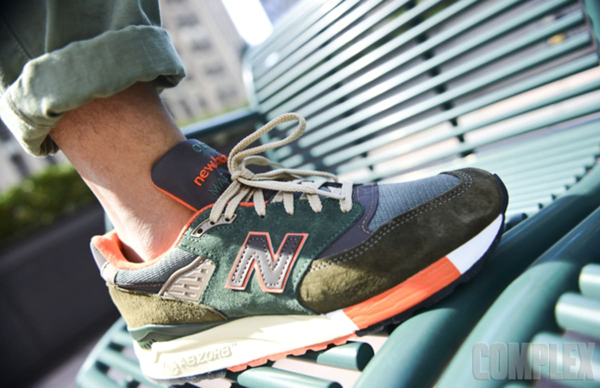 images J. Crew x New Balance 998 Independence Day Trainers