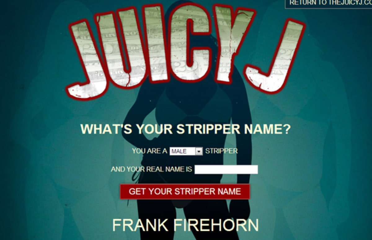 how to choose your stripper name
