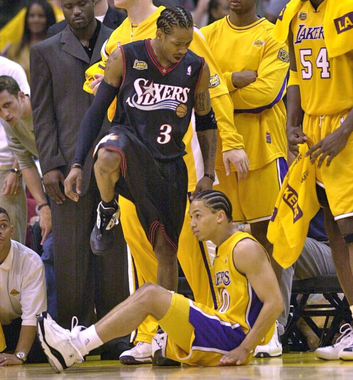 Tyronn Lue Salty About People Remembering Anniversary of Allen Iverson Stepping Over Him | Complex