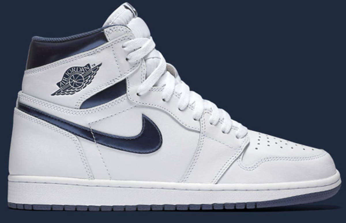 air jordan 1 retro og high metallic navy complex. Black Bedroom Furniture Sets. Home Design Ideas