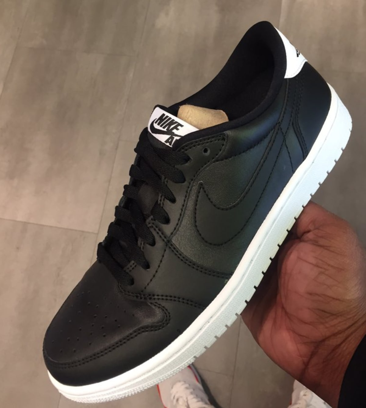 """There's a Low Top Version of the Air Jordan 1 """"Cyber Monday"""" Releasing"""