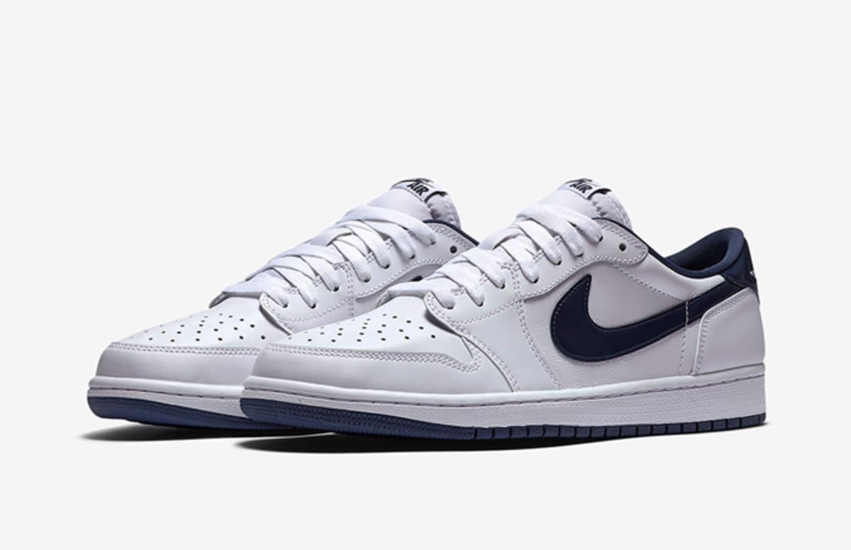 "Here Are the Official Release Details for the Air Jordan 1 Retro Low OG ""Midnight Navy"""