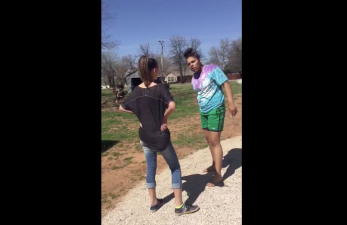 Video of Black Girl Knocking Out White Girl Who Called Her the N-Word Becomes a Meme
