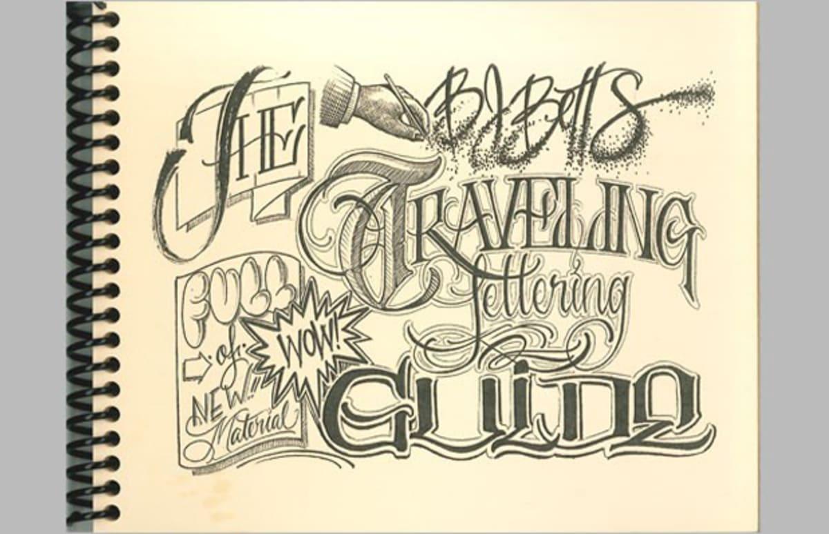 Bj Betts Traveling Lettering Guide