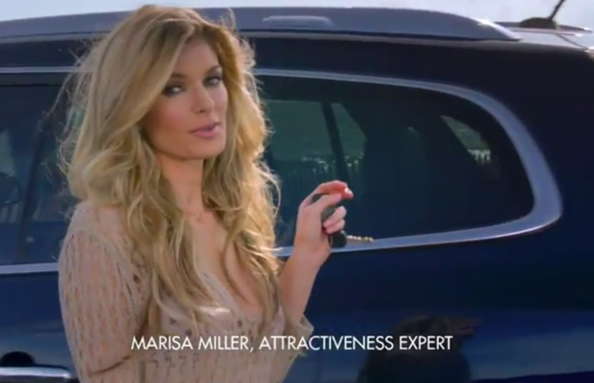 Marisa Miller Ready for the Beach in New Buick Enclave Ad ...