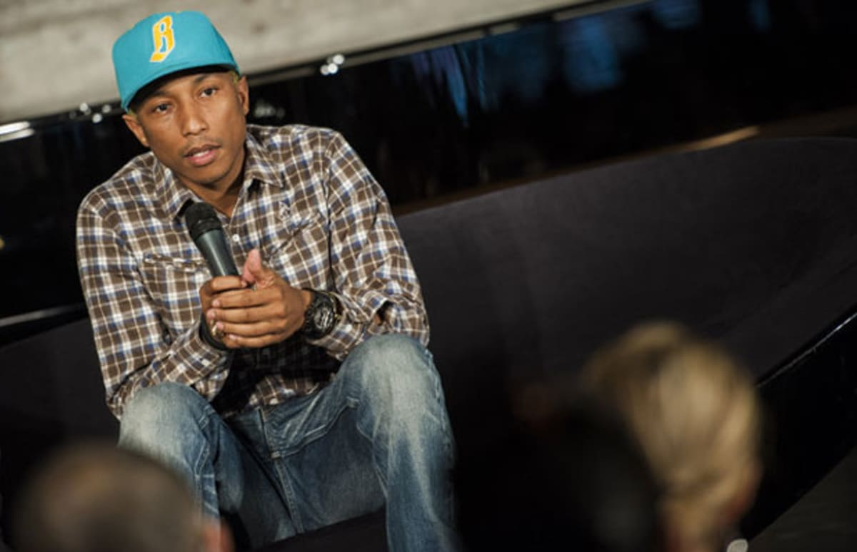 Interview pharrell williams talks art design and the importance of learnin - Pharrell williams design ...
