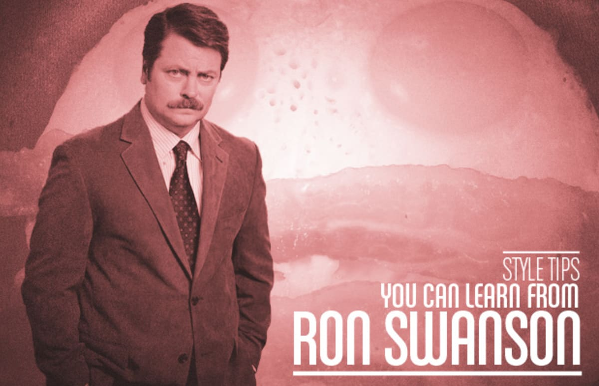15 Style Tips You Can Learn From Ron Swanson Complex