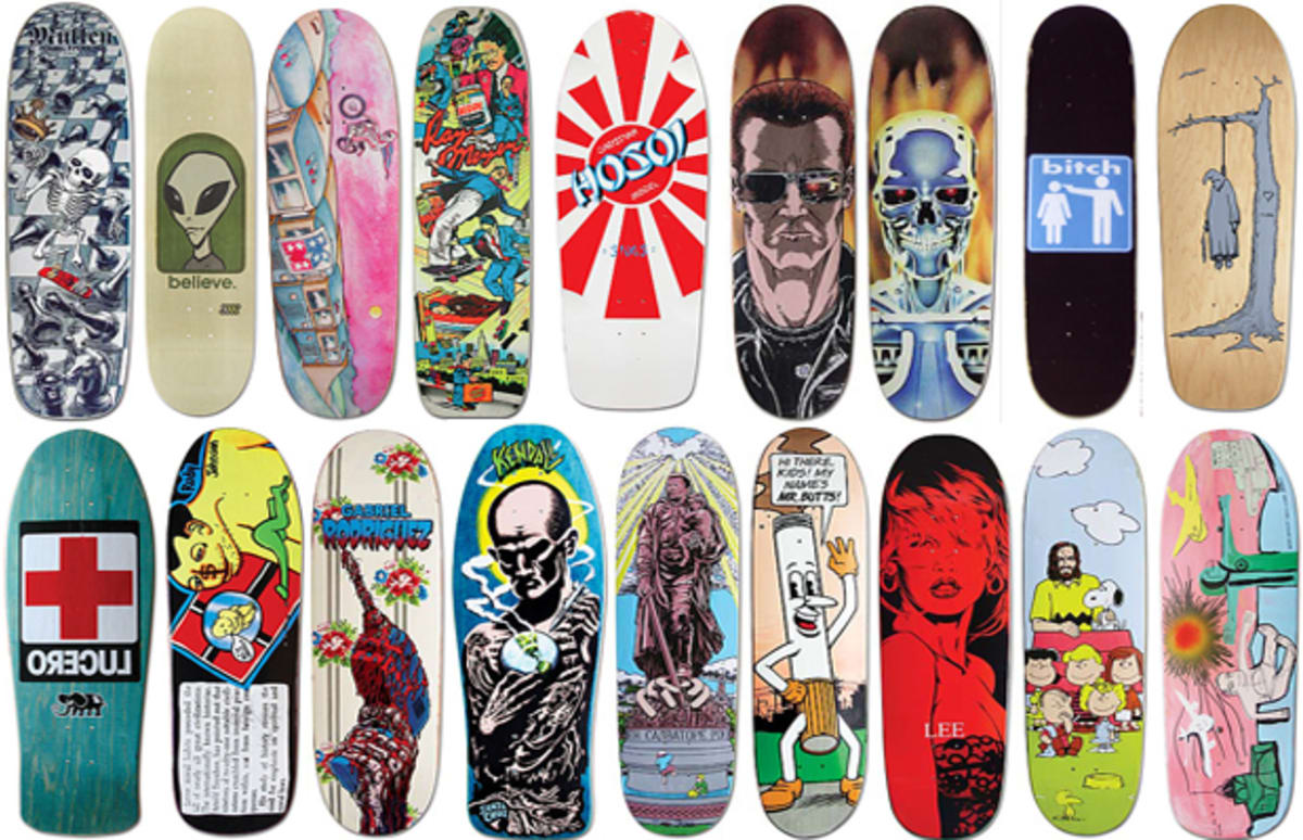 marc mckees 25 favorite skateboard graphics complex - Skateboard Design Ideas