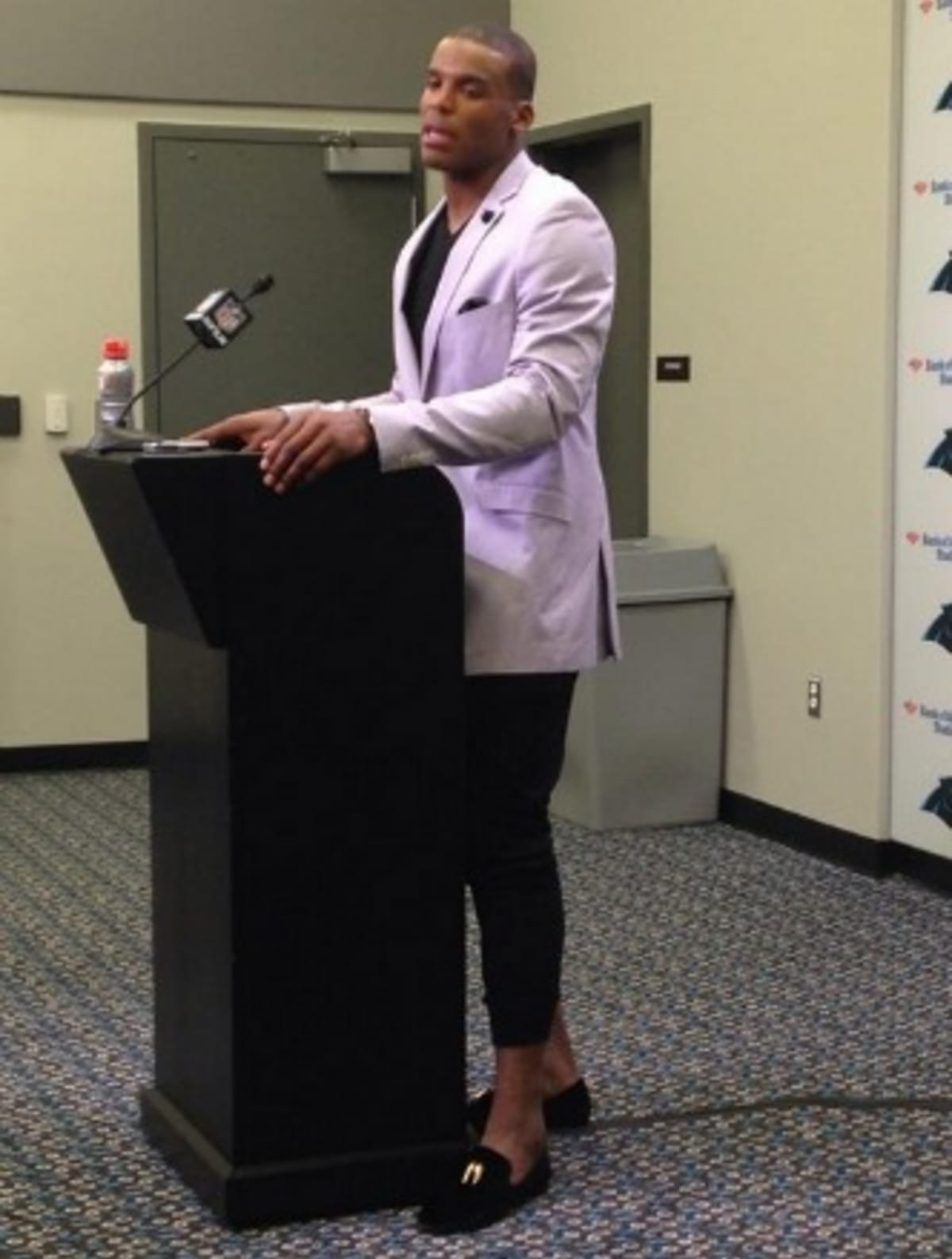 Twitter Destroyed Panthers Qb Cam Newton About His Questionable Post Outfit Complex