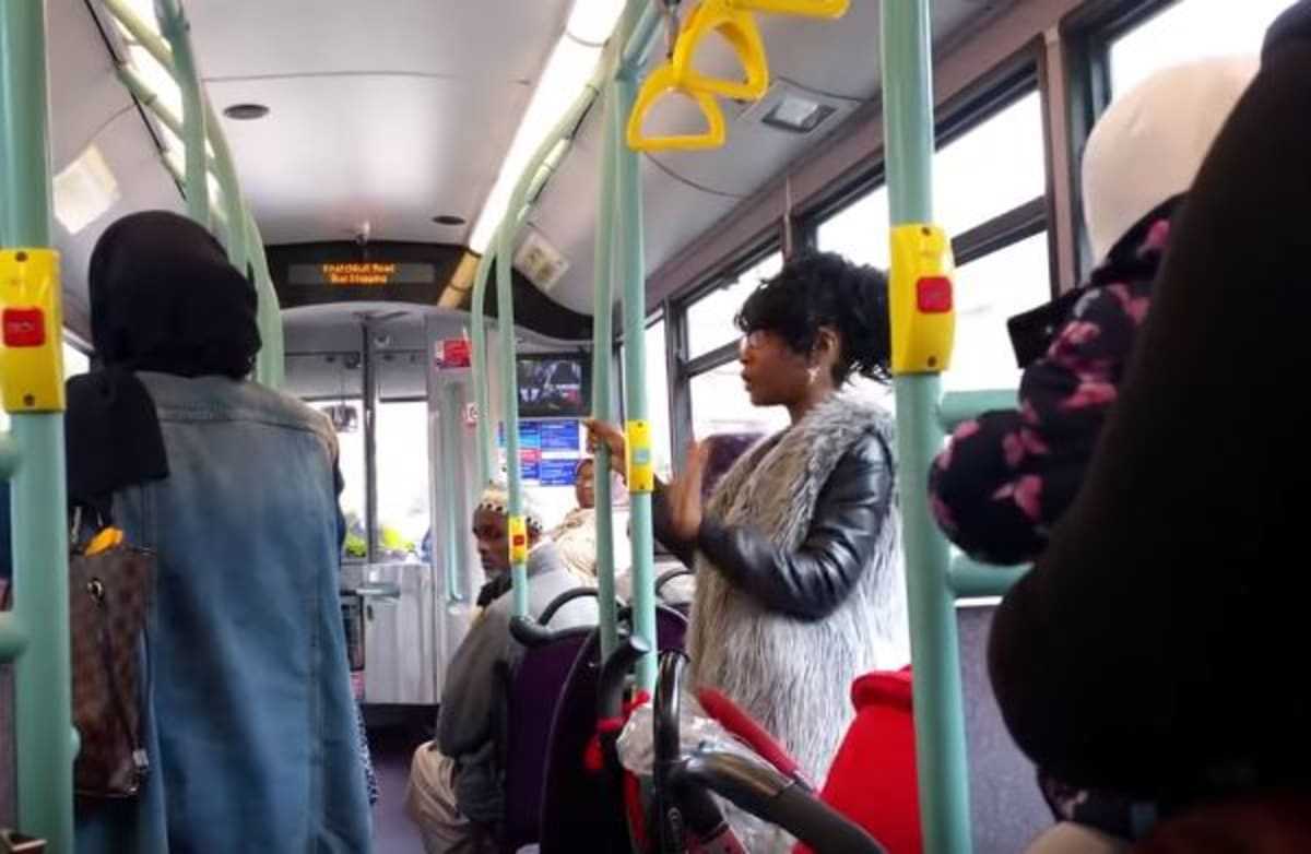 Woman Arrested After Racist Rant on Public bus
