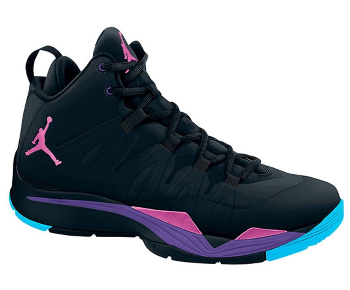 6ea4e349704 purple and blue jordan gammas 10 Nike ...