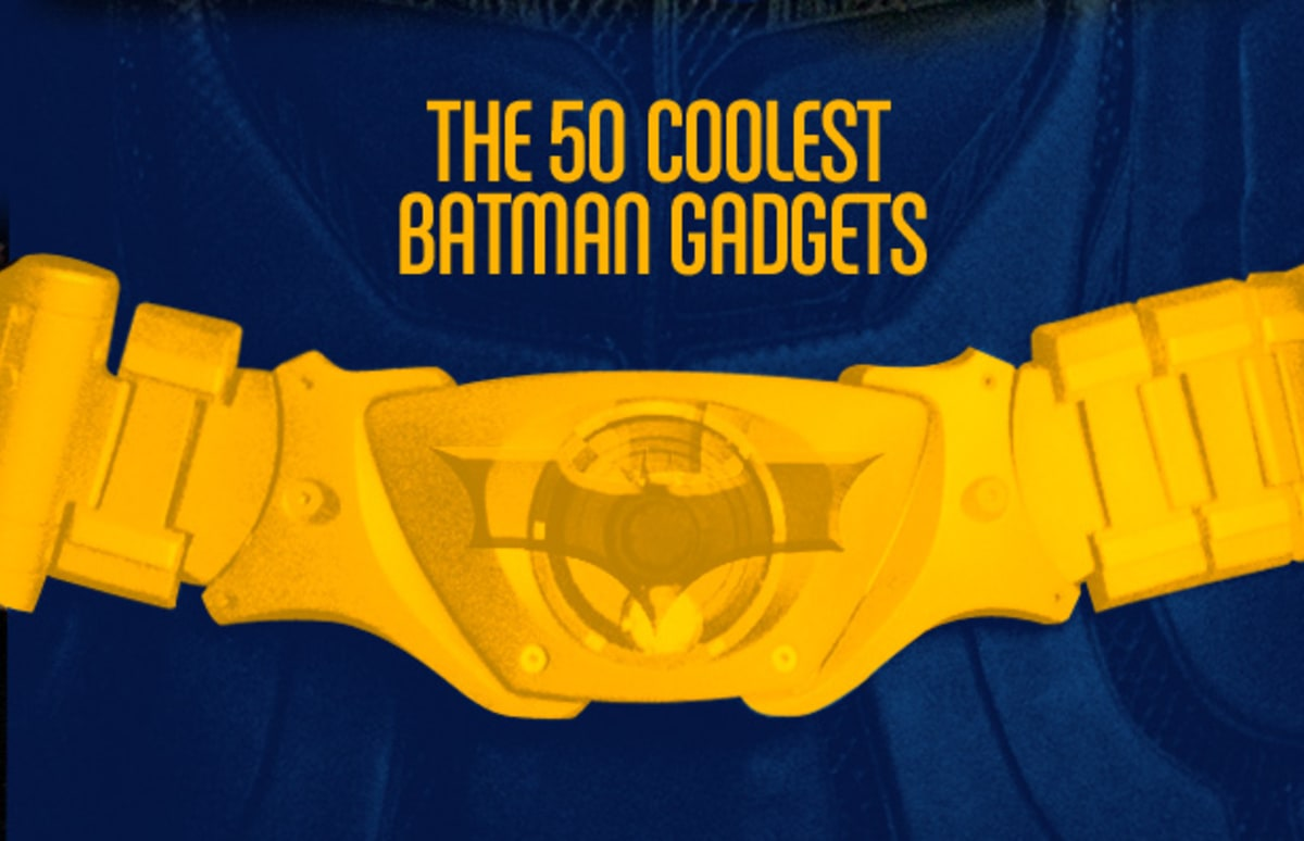 The 50 Coolest Batman Gadgets Complex