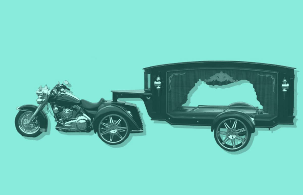 Bicycle Hearse 25 Great Hearses For Your Final Ride