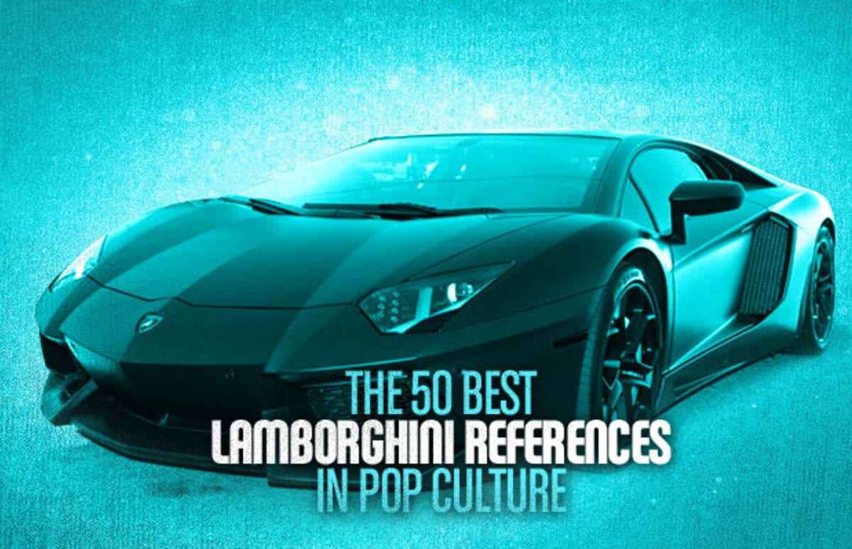 The 50 Best Lamborghini References In Pop Culture Complex Gallardo Fuse Box