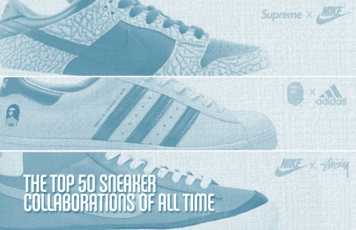 d4431eca3a92 The Top 50 Sneaker Collaborations of All Time