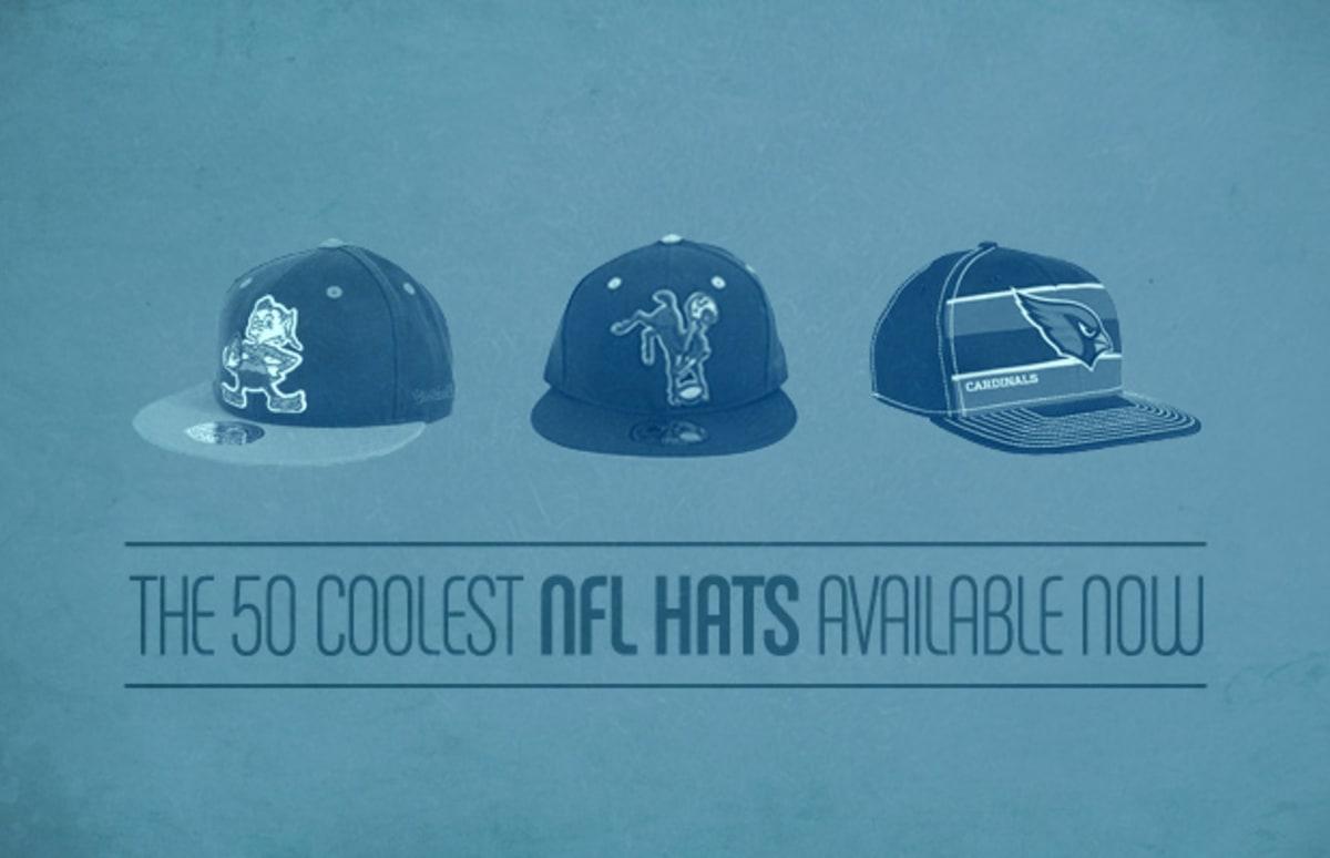 The 50 Coolest NFL Hats Available Now  1144e7de1fc