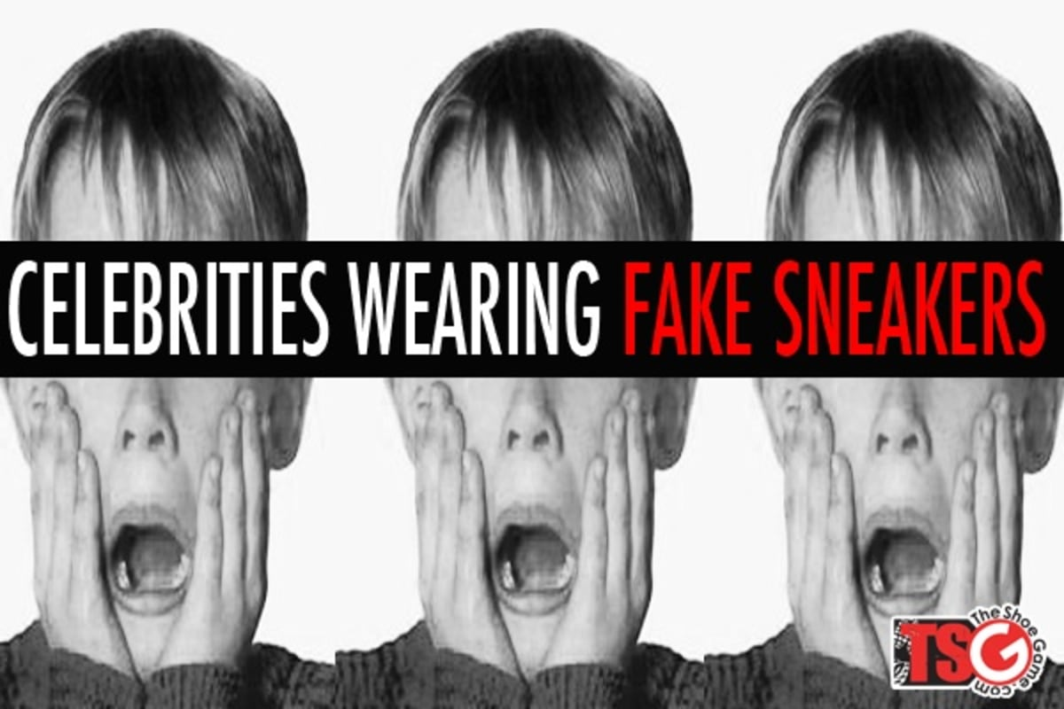 CELEBRITY SNEAKERS EXPOSED: CAUGHT WEARING FAKES! - …