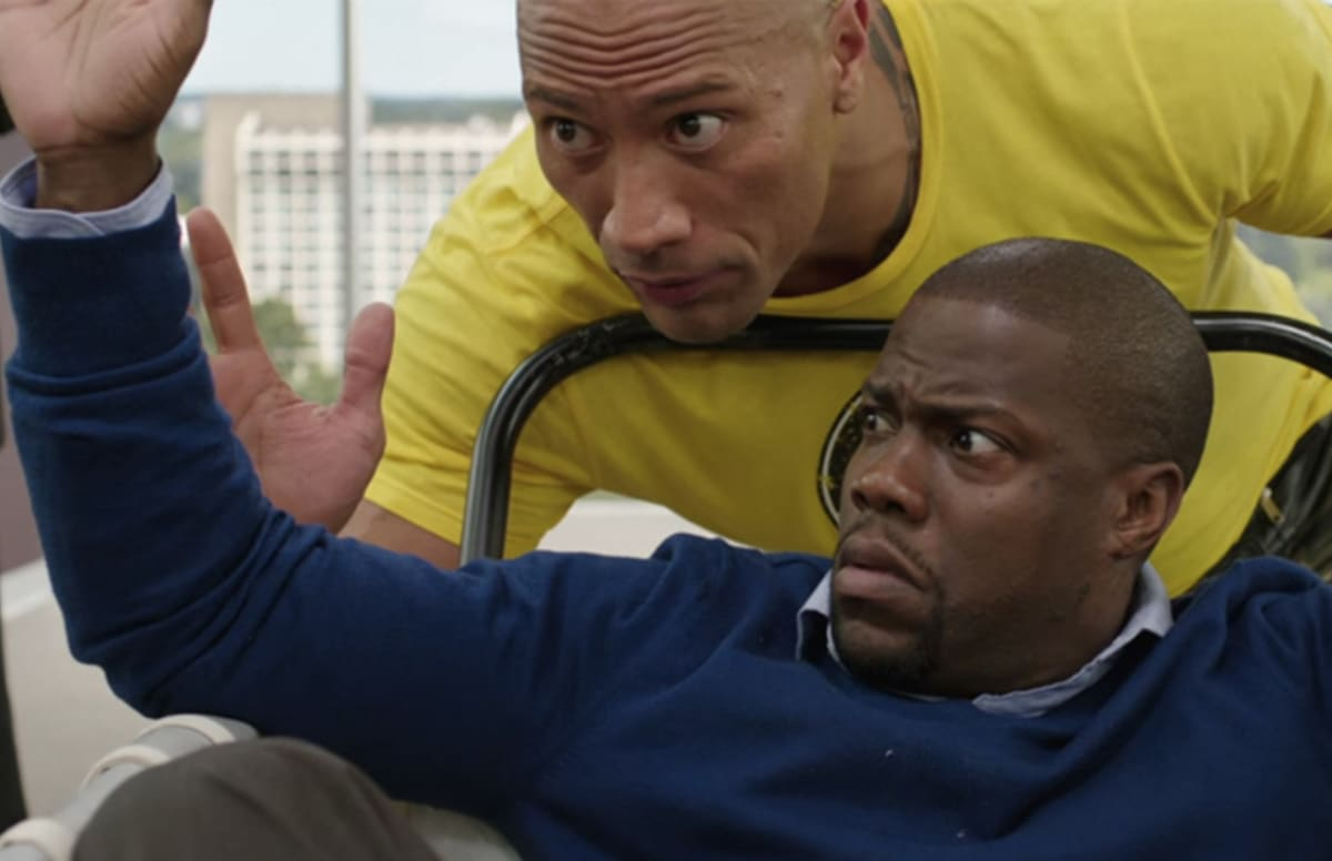 Watch the First Trailer for The Rock and Kevin Hart's Hilarious Buddy Comedy 'Central Intelligence'