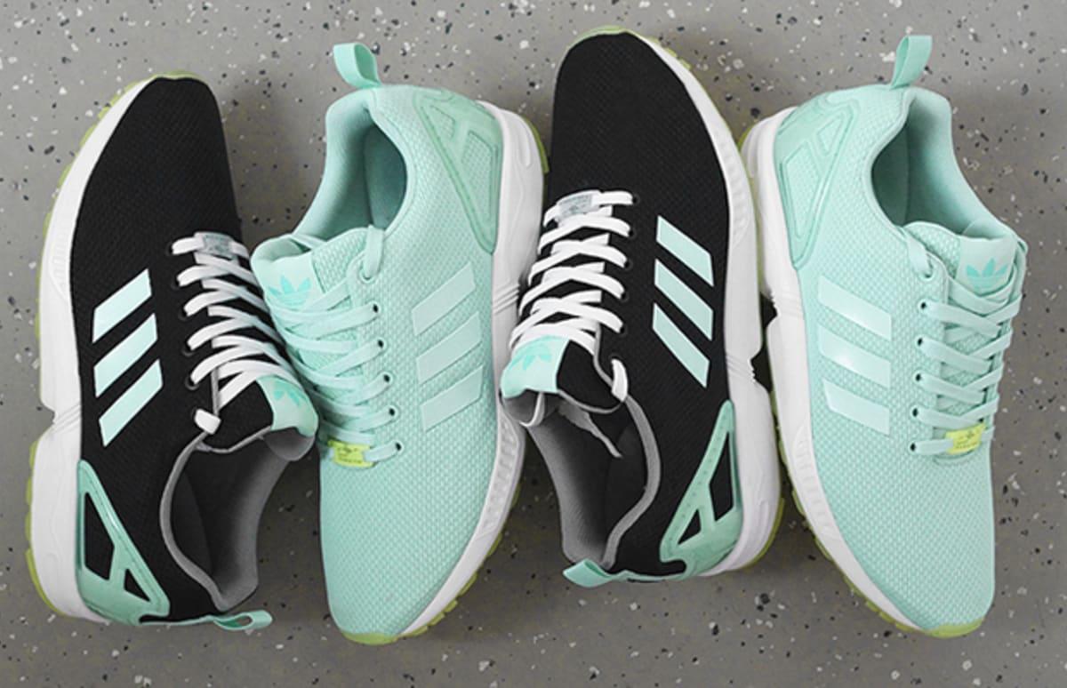 online store e3fd1 4dc3d adidas ZX Flux Mint Green - BB2762