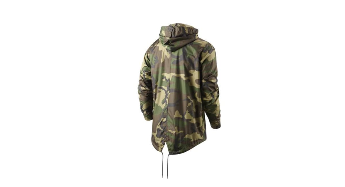 Nike's Camo Fishtail Parka Is A Steal At $100 | Complex