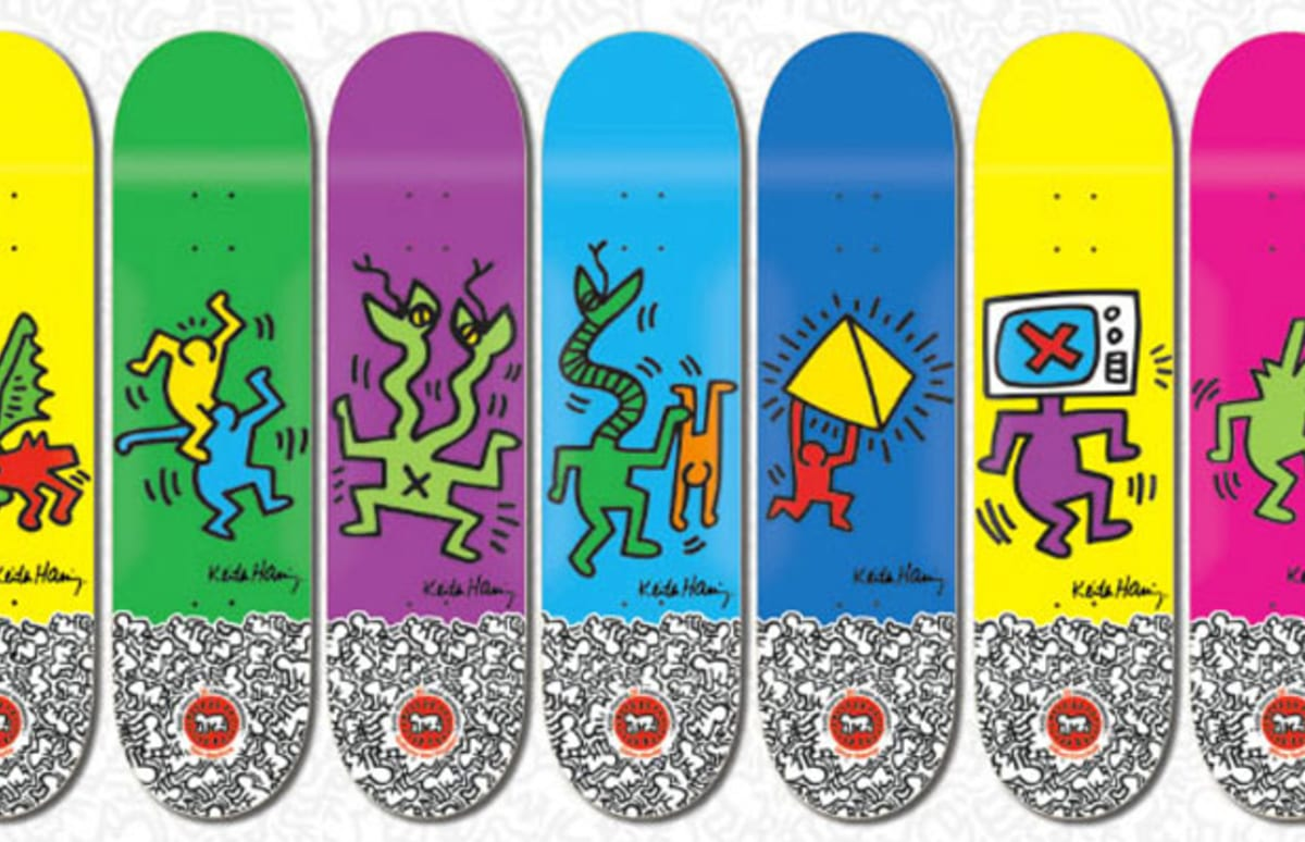 Keith Haring X Alien Workshop Skate Decks And More Complex