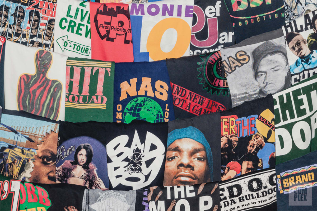 Classic Material: Rare Rap Tees With Even Rarer Stories