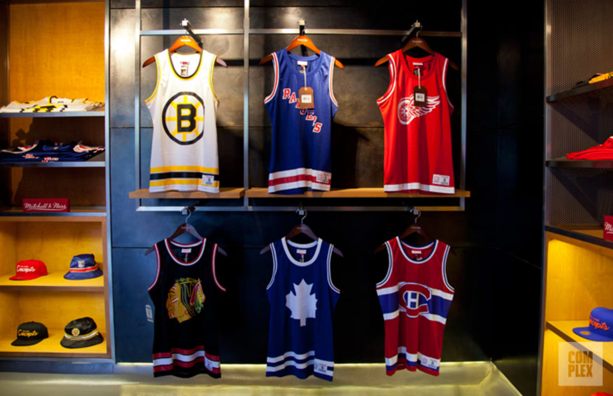 Unique Auto Center >> Concepts x Mitchell & Ness Hockey/Basketball Jerseys | Complex