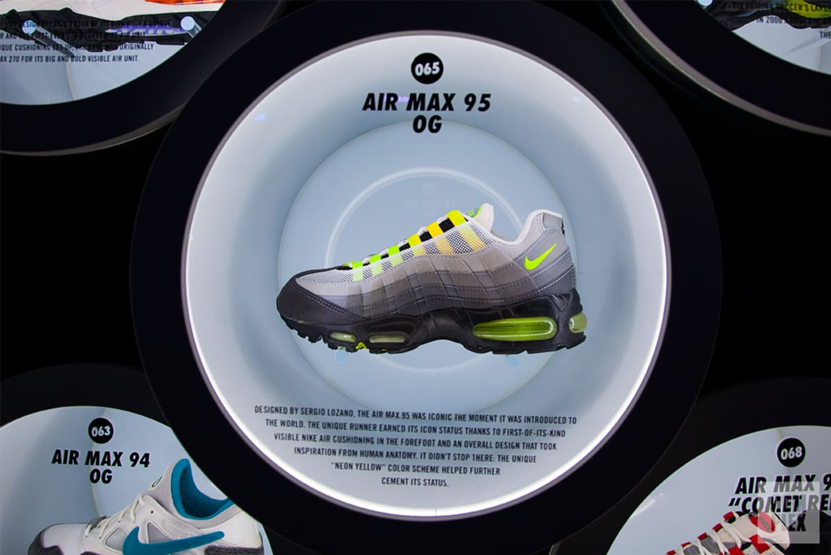 Nike Displayed a Mindblowing Collection of 100 Air Max Sneakers in New York City