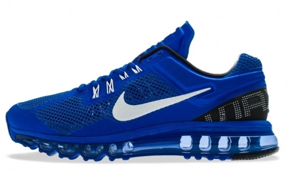 2013 nike air max blue