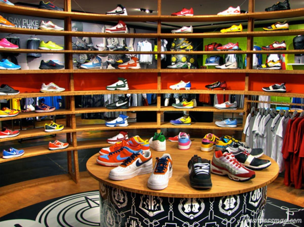nike shoe shop new york