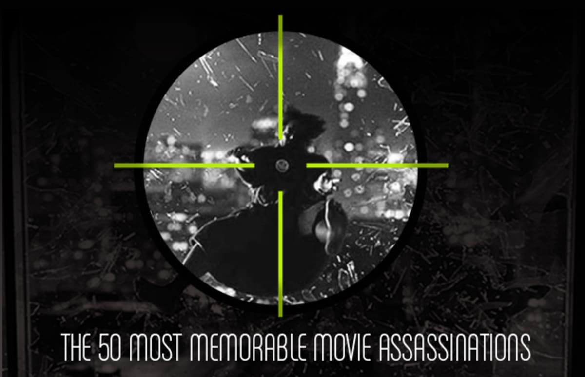 The 50 Most Memorable Movie Assassinations | Complex