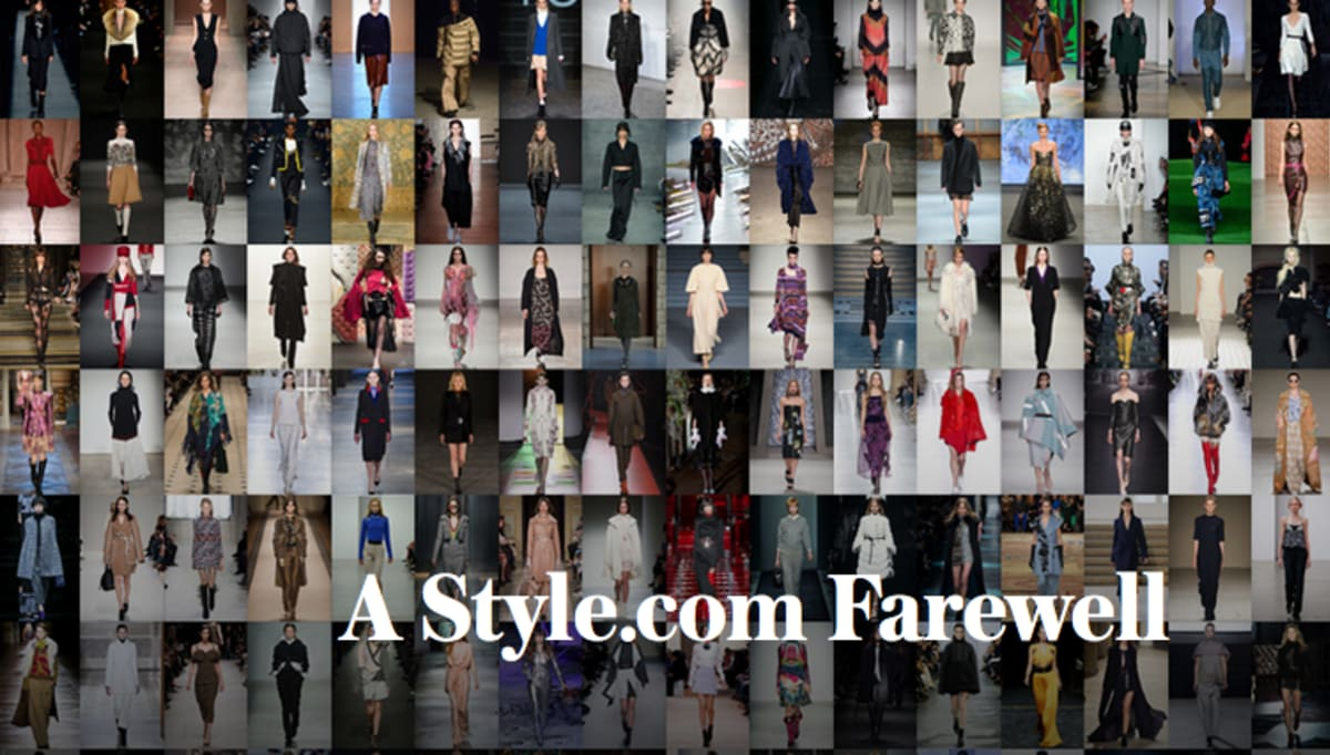 Looks - Relaunch to Style.com as an e-commerce site video