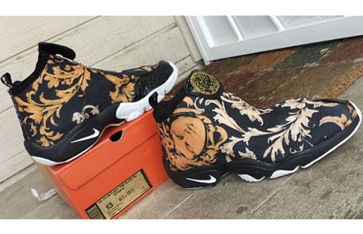 "These Custom Nike Sneakers Will Have You Saying ""Versace ..."