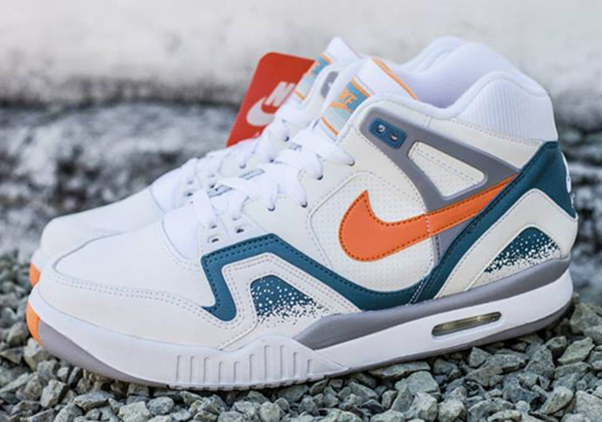 The nike clay blue air tech challenge iis should come with an andre agassi wig complex - Nike air tech challenge ...