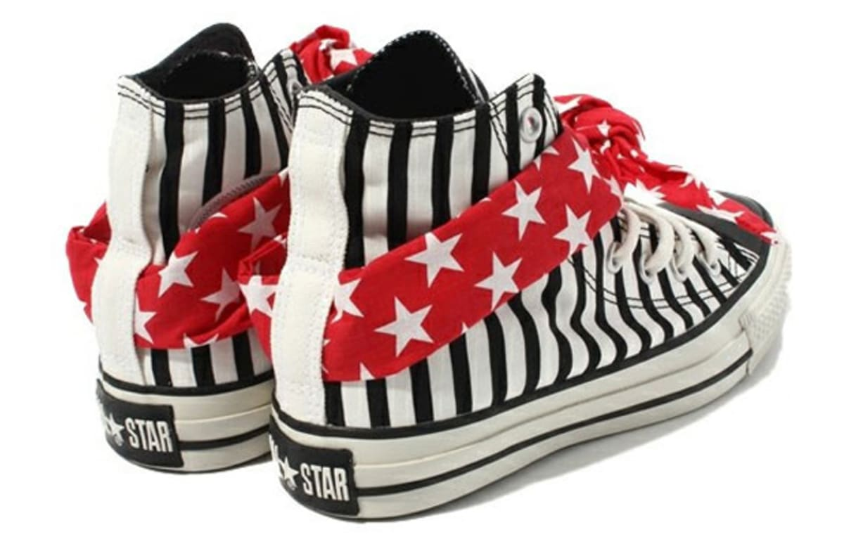 converse chuck taylor all star bandana stars and stripes. Black Bedroom Furniture Sets. Home Design Ideas