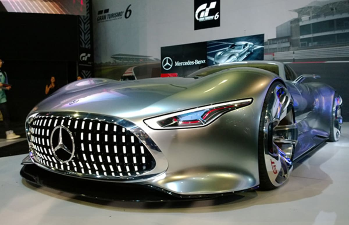 The mercedes benz amg vision gran turismo is a fantasy car for Mercedes benz amg vision