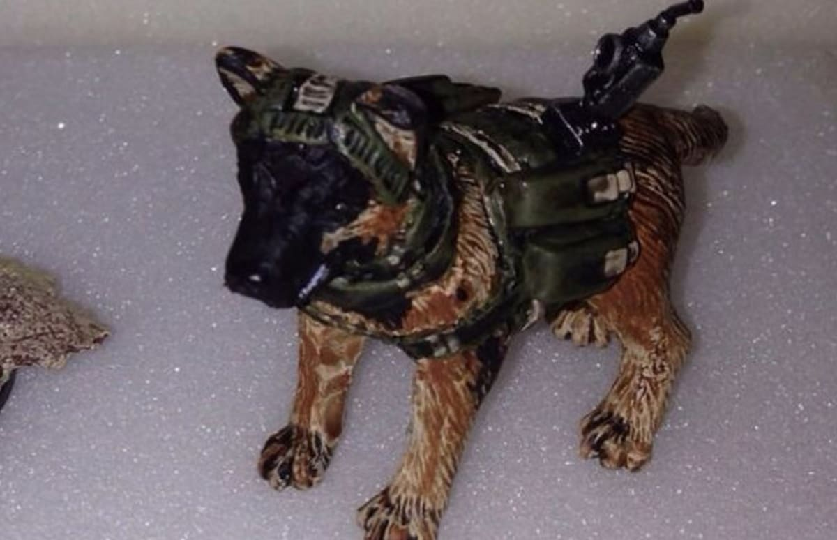 Quot Call Of Duty Ghosts Quot Dog Now Has An Action Figure Complex