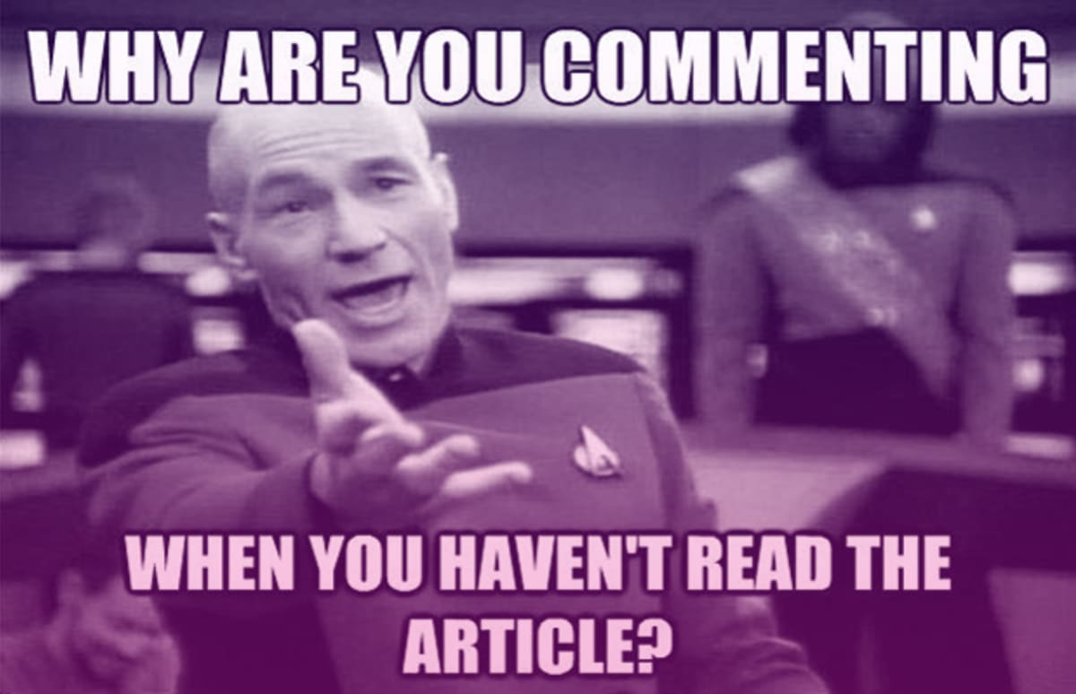 The 50 Funniest Annoyed Picard Memes Complex