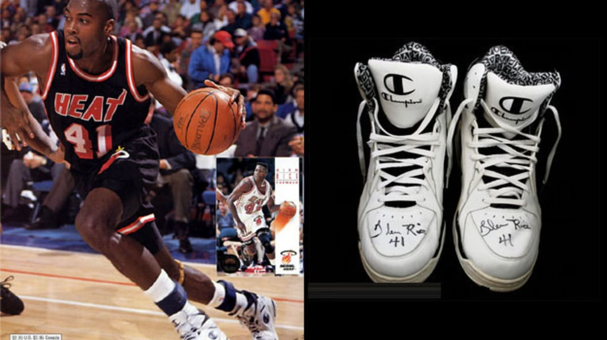 Today in Performance Sneaker History Glen Rice Sets Heat