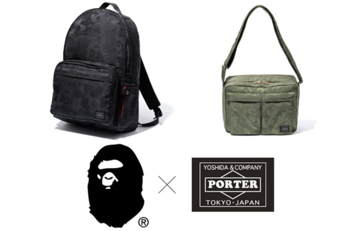 A bathing ape x porter 2011 summer capsule collection for Bathing ape x porter