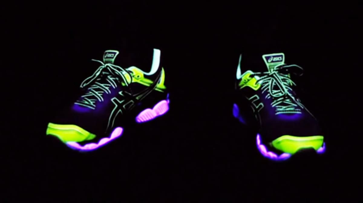 Womens Glow In The Dark Running Shoes