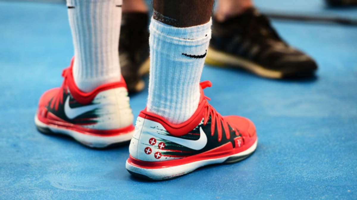 34ce3a27544f2 The Most Notable Sneakers Worn At The 2014 Australian Open. Gurvinder Singh  Gandu. ByGurvinder Singh Gandu. Jan 26