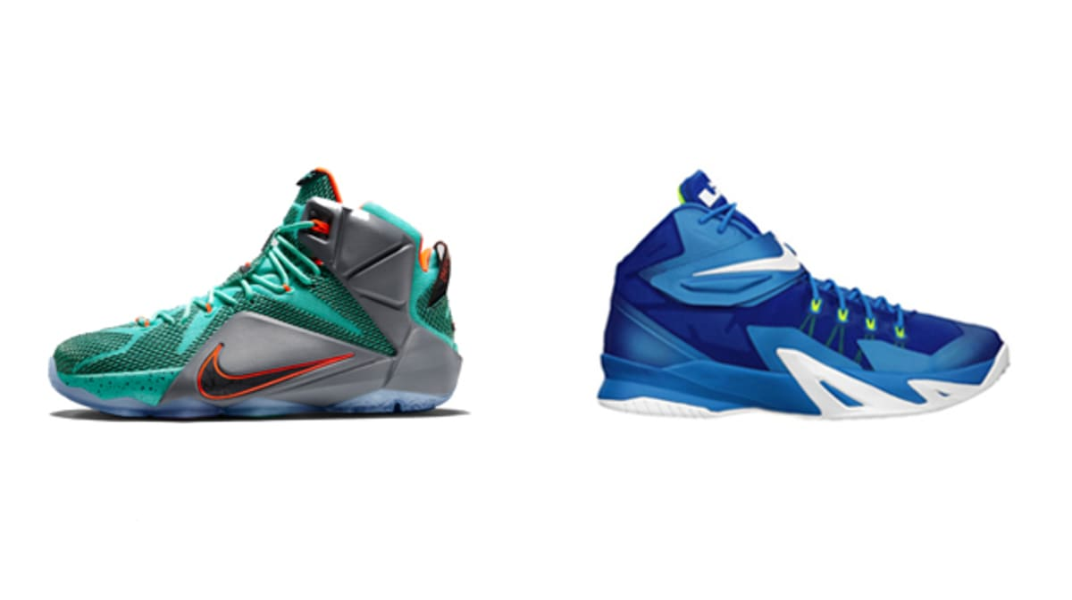 the best attitude 876c9 98de4 Sneaker Showdown  How Does the Nike LeBron 12 Hold Up vs. the Nike Zoom  Soldier VIII    Complex