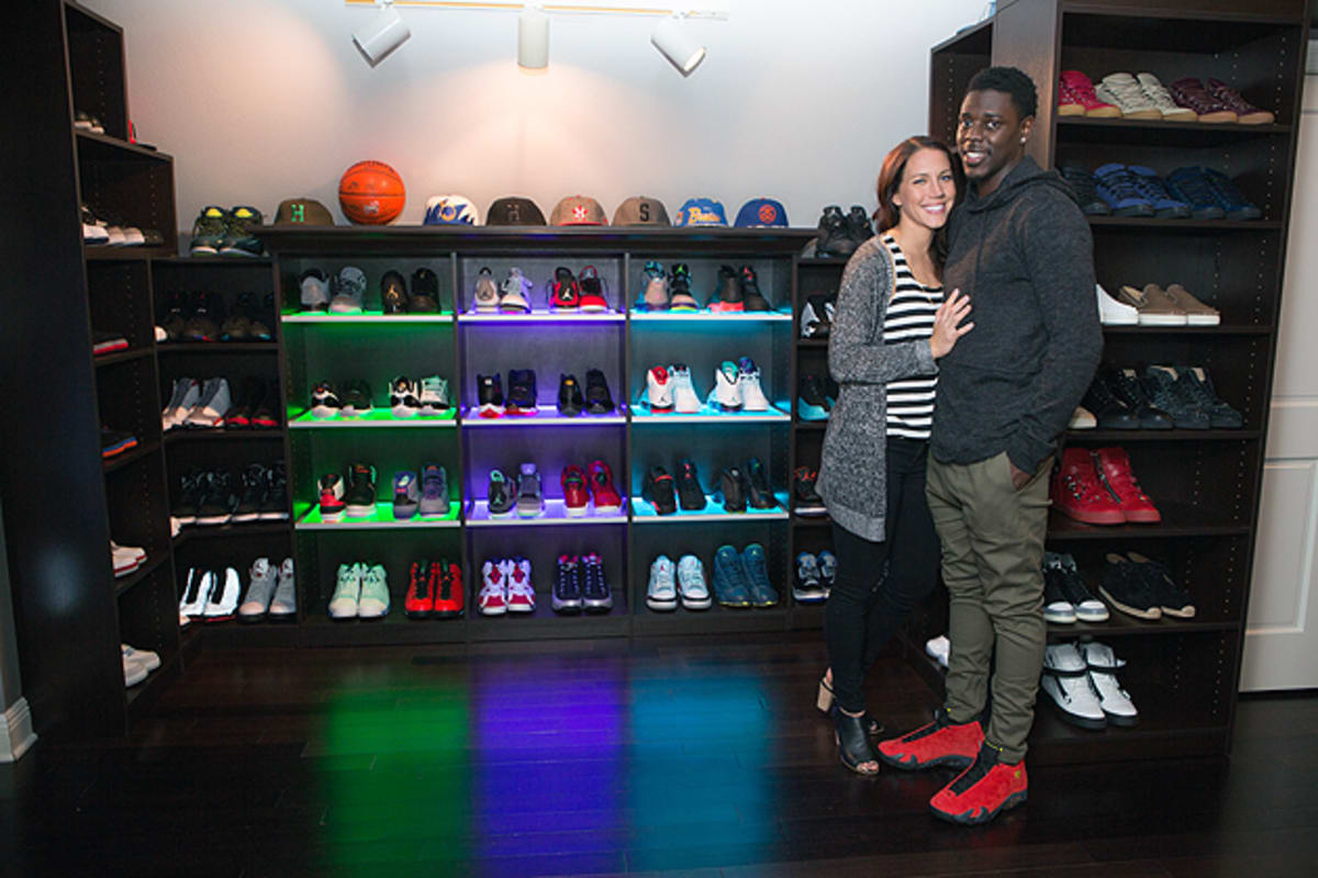 Jrue Holiday Has A Dope Sneaker Room And Were Not Surprised