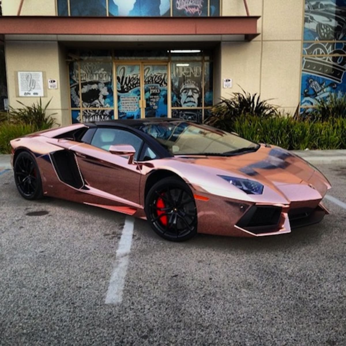 2013 Lamborghini Gallardo Interior: Tyga Goes All In, Turns His Lamborghini Aventador Roadster