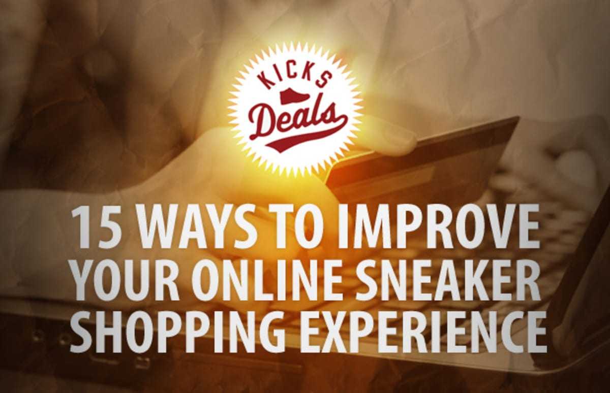 Kicksdeals Highlights 15 Ways To Improve Your Online Sneaker Shopping Experience